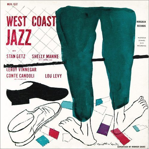 West Coast Jazz - Stan Getz cover