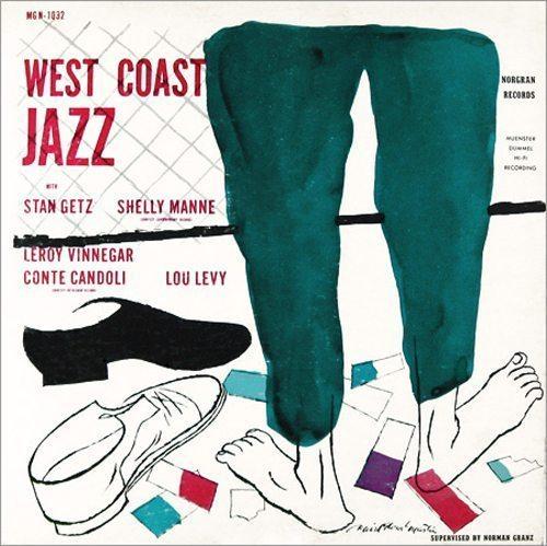 West Coast Jazz - Stan Getz cover