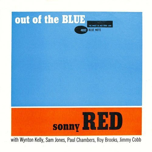 Out of the Blue Sonny Red cover