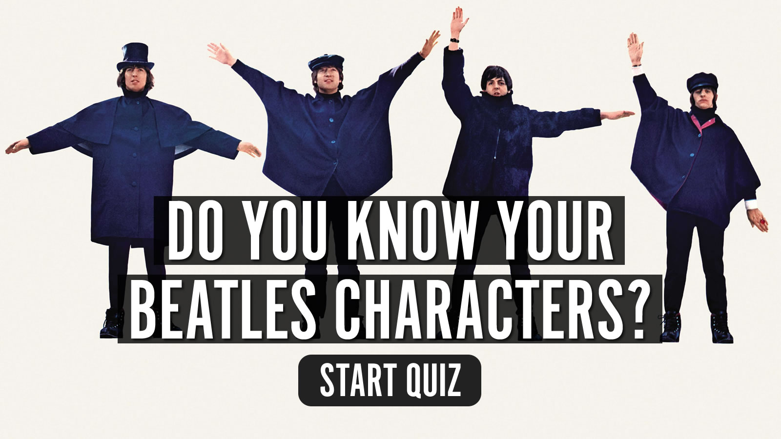 Uquiz Do You Know Your Beatles Characters
