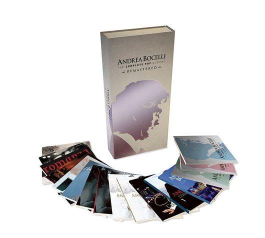 Andrea Bocelli 3D Packshot