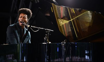 Benjamin Clementine photo by Andy Sheppard and Redferns via Getty Images