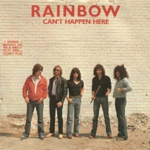 Can't Happen Here Picture Sleeve