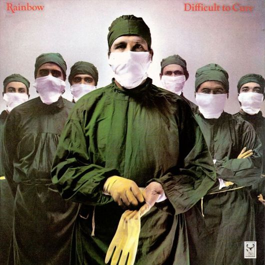 Rainbow Difficult To Cure LP