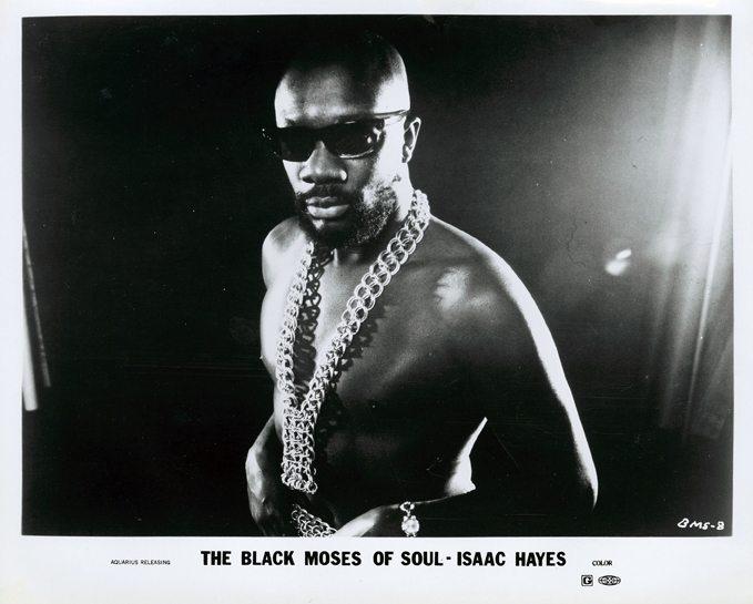 Isaac Hayes Black Moses Press Shot