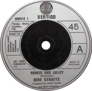 Romeo And Juliet Single A-side