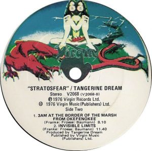 Stratosfear B-side label