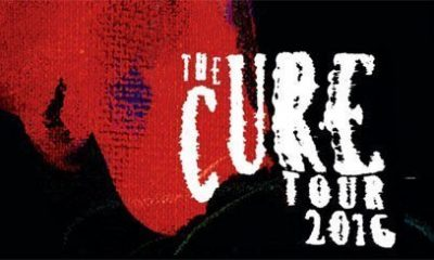 The Cure 2016 Tour Banner