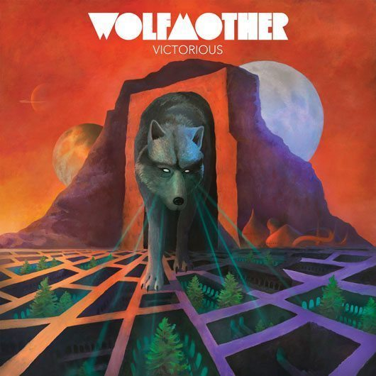 Wolfmother Victorious Artwork