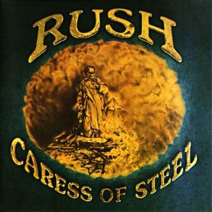 Caress Of Steel Artwork (1975)