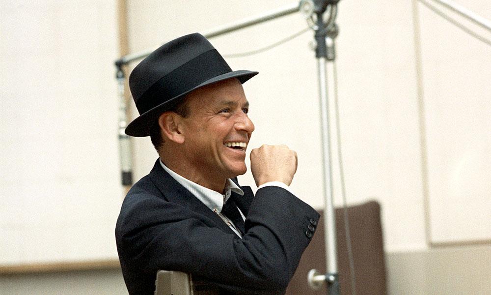 Frank Sinatra Colour Photo