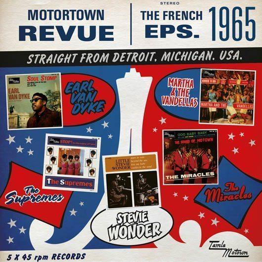 Motown French EPs 1965 Packshot