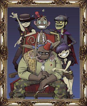 Gorillaz - Family Framed