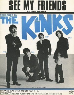 Kinks - See My Friends Sheet Music - cropped