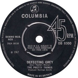 Pretty Things - Defecting Grey - Label