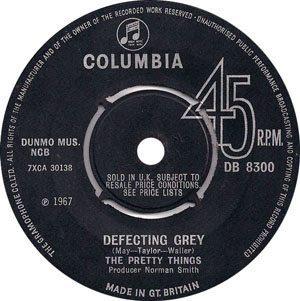 Pretty Things - Defecting Grey - Label