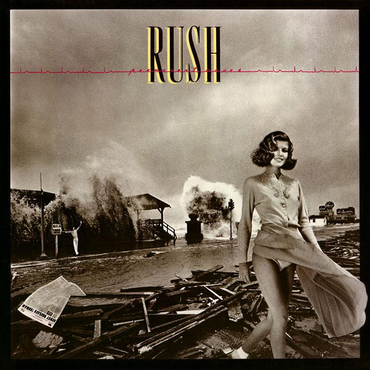 Rush Permanent Waves Album Cover
