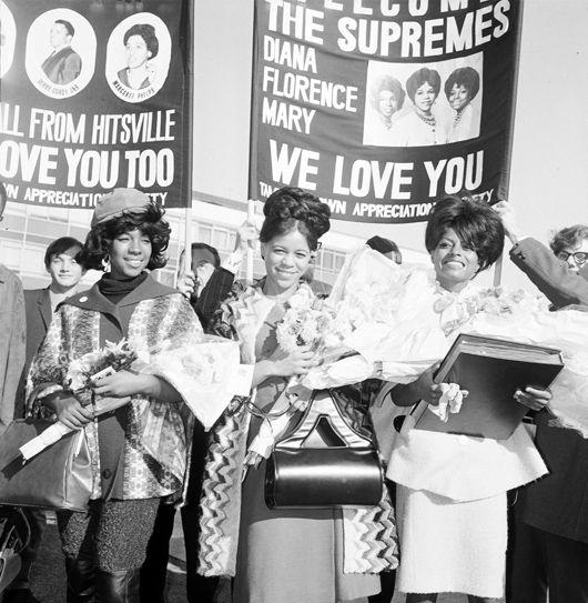 Supremes, UK, Oct 64