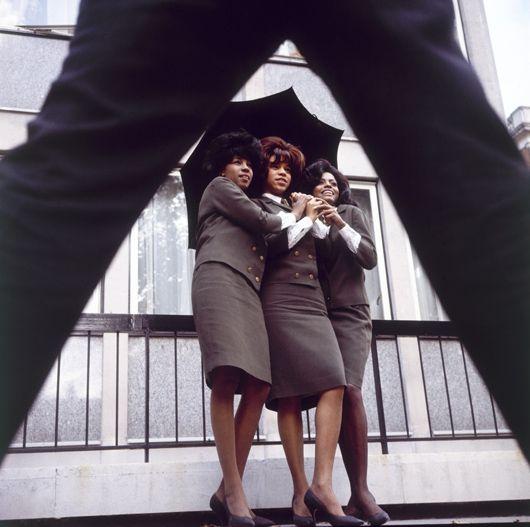 Supremes, EMI HQ, Oct 1964