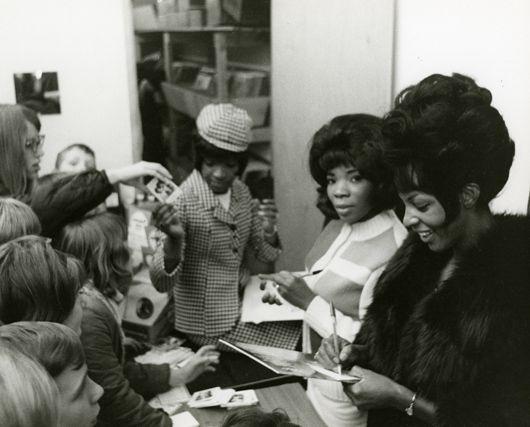 Martha and Vandellas, UK, March 65