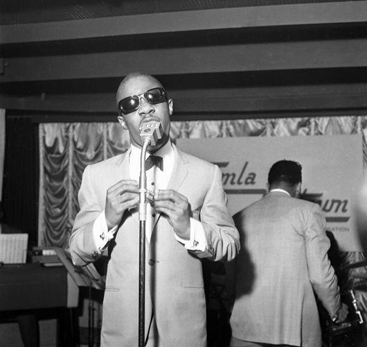 Stevie Wonder, Motown Press Reception, March 65