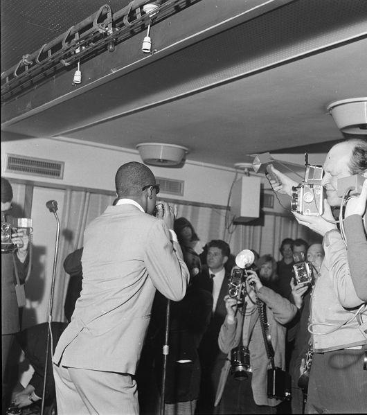 Stevie Wonder, UK Press Reception, Mar 65