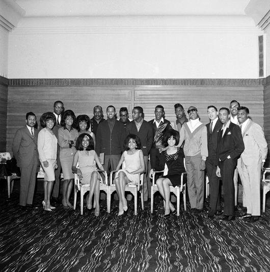 Supremes, Stevie Wonder, Smokey And Miracles, Martha And Vandellas, Earl Van Dyke Sextet, UK, Mar 65