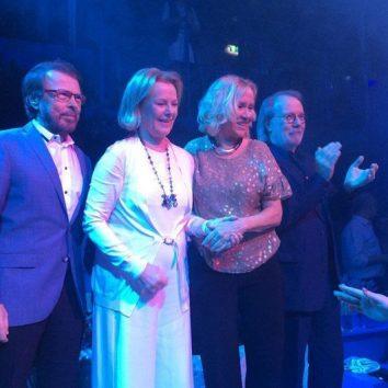 ABBA, Mamma Mia! The Party launch