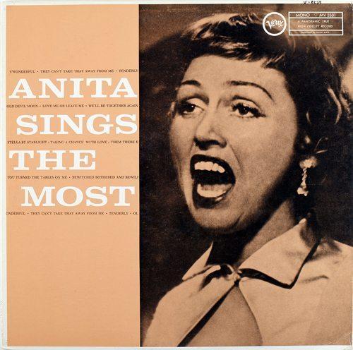 Anita sings