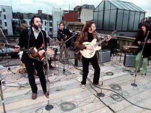 Beatles Apple Roof