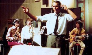 George Martin conducting Beatles