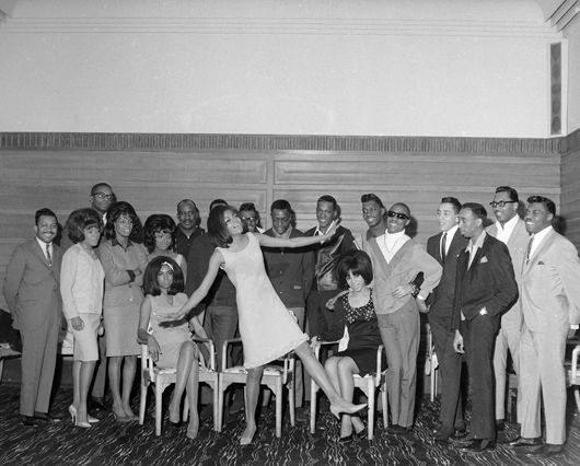 Supremes, Stevie Wonder, Earl Van Dyke, Miracles, Vandellas