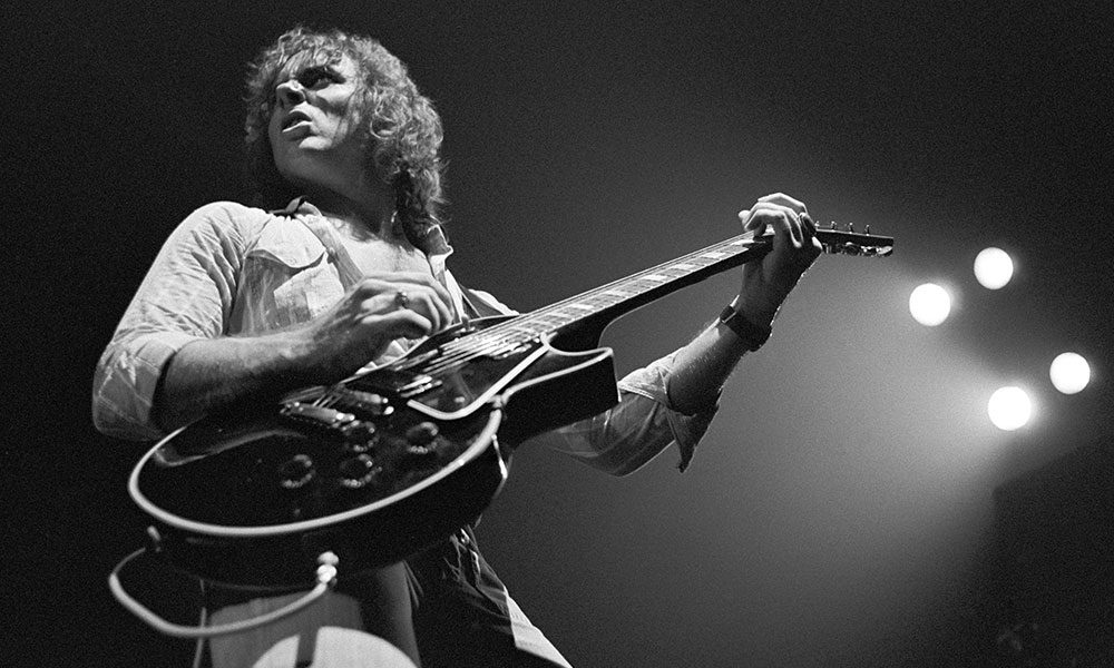 Ronnie Montrose photo by Tom Hill and WireImage