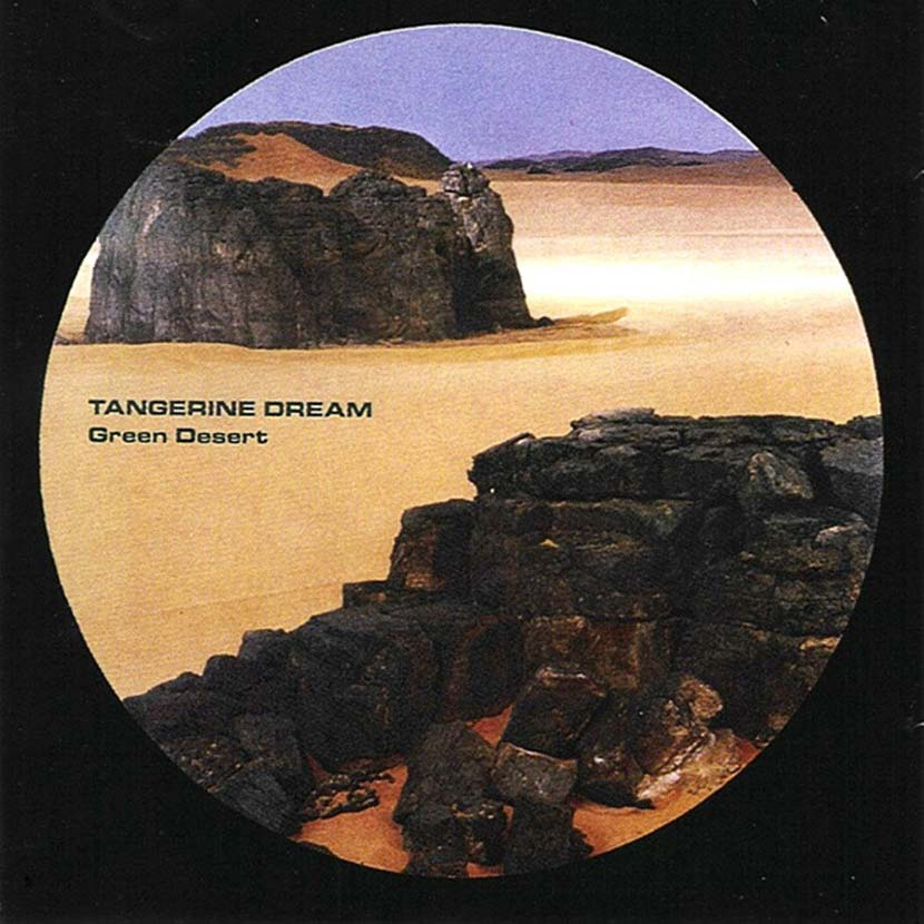 Tangerine Dream Green Desert album cover web 830 optimised