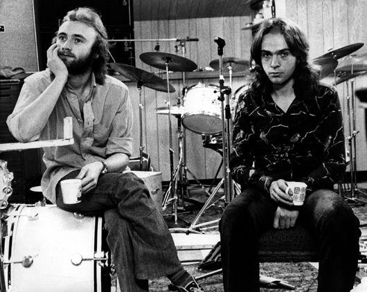 Genesis, Peter and Phil, circa 1973