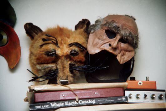 Genesis, Foxtrot era stage masks