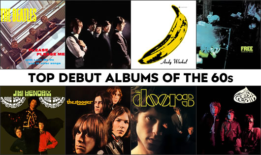 Debut Albums Of The 60s