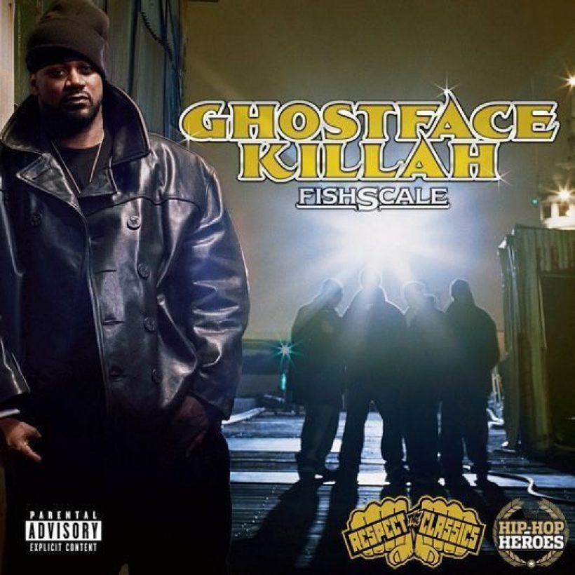 Fishscale cover (2004) with logos