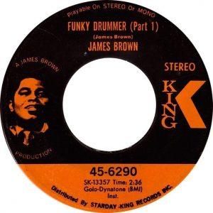 Funky Drummer Label - 1970