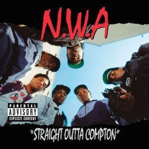 NWA - Straight Outta Compton - Cropped