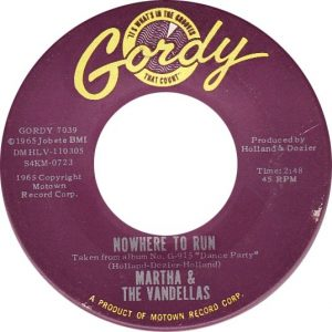 Martha And The Vandellas Nowhere To Run