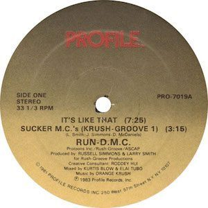 Run-DMC - Sucker MCs - cropped