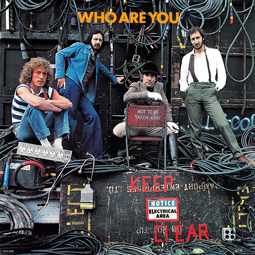The Who Who Are You Album Cover web optimised 820