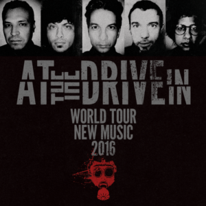 AT THE DRIVE-IN TOUR 2016