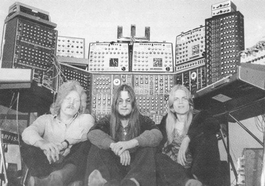 Tangerine Dream Atem Line Up Edgar Froese, Christopher Franke, Peter Baumann
