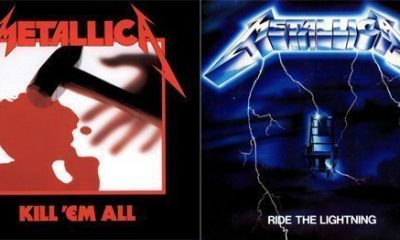 Metallica Ride The Lightning Album Covers
