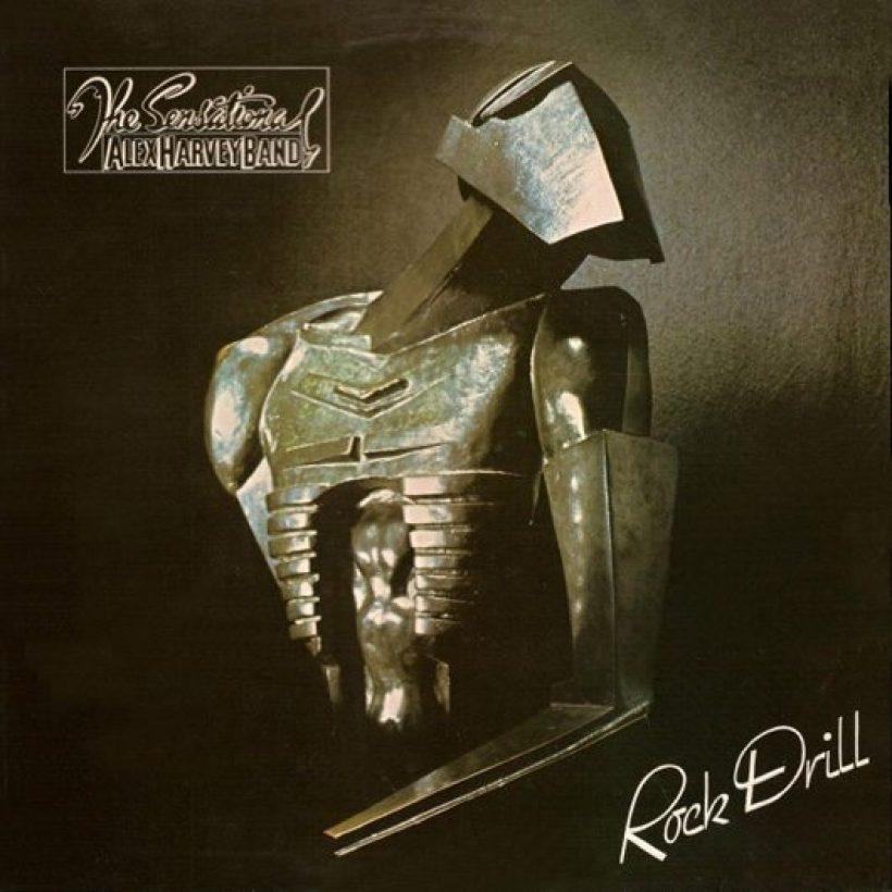 Sensational Alex Harvey Band Rock Drill Album Cover