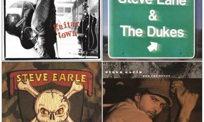 Steve Earle Album Covers