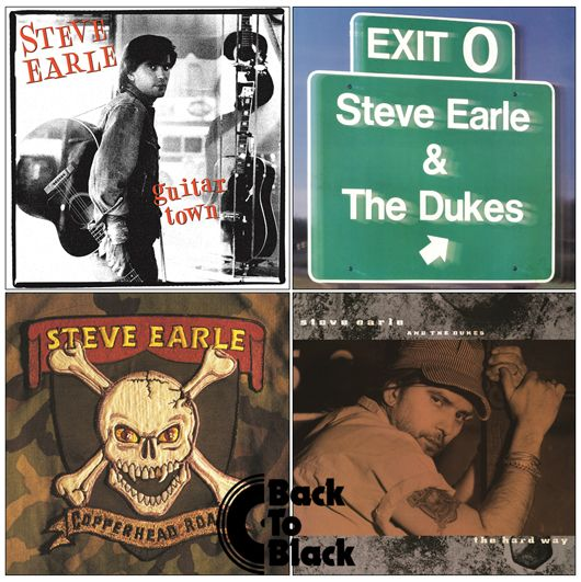 Steve Earle Album Covers