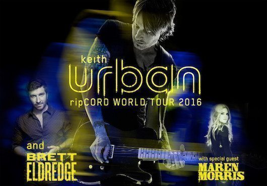 Keith Urban Announces 'Ripcord' Album & Tour